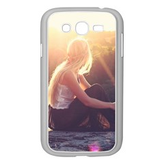 Boho Blonde Samsung Galaxy Grand Duos I9082 Case (white) by boho