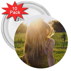 Sophia 3  Button (10 Pack) by boho