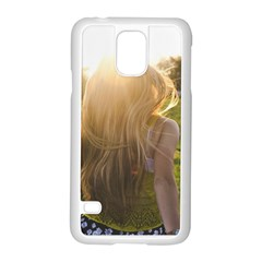 Sophia Samsung Galaxy S5 Case (white)