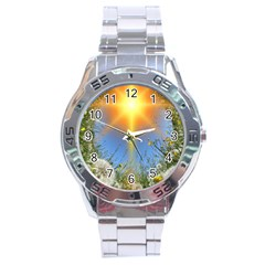Dandelions Stainless Steel Watch by boho