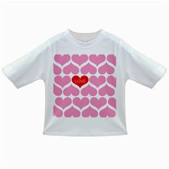 One Love Baby T Shirt by Kathrinlegg