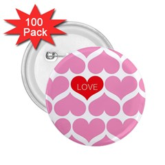 One Love 2 25  Button (100 Pack)