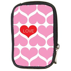 One Love Compact Camera Leather Case