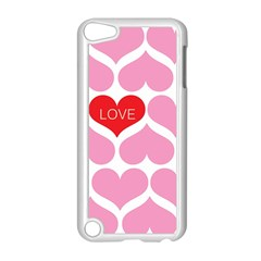 One Love Apple Ipod Touch 5 Case (white) by Kathrinlegg