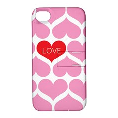 One Love Apple Iphone 4/4s Hardshell Case With Stand by Kathrinlegg