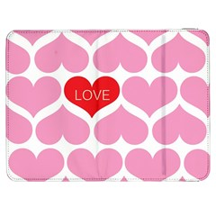 One Love Samsung Galaxy Tab 7  P1000 Flip Case by Kathrinlegg
