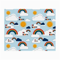 Be Happy Repeat Glasses Cloth (small)