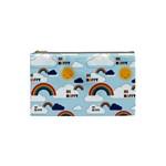 Be Happy Repeat Cosmetic Bag (Small) Front
