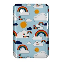Be Happy Repeat Samsung Galaxy Tab 2 (7 ) P3100 Hardshell Case  by Kathrinlegg