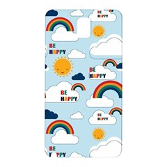 Be Happy Repeat Samsung Galaxy Note 3 N9005 Hardshell Back Case by Kathrinlegg