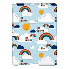 Be Happy Repeat Samsung Galaxy Tab S (10 5 ) Hardshell Case  by Kathrinlegg