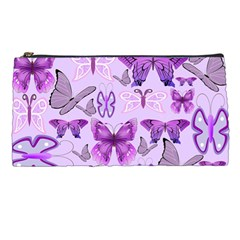 Purple Awareness Butterflies Pencil Case by FunWithFibro