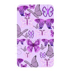Purple Awareness Butterflies Memory Card Reader (rectangular) by FunWithFibro