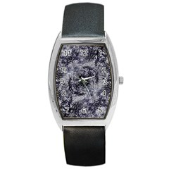 Nature Collage Print  Tonneau Leather Watch by dflcprints