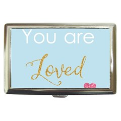You Are Loved Cigarette Money Case by Kathrinlegg