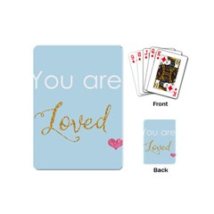 You Are Loved Playing Cards (mini) by Kathrinlegg