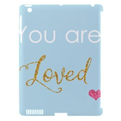 You Are Loved Apple Ipad 3/4 Hardshell Case (compatible With Smart Cover) by Kathrinlegg