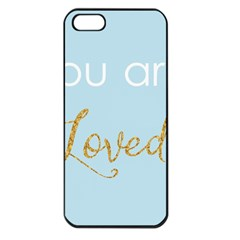 You Are Loved Apple Iphone 5 Seamless Case (black)