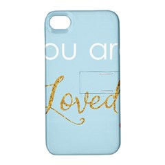 You Are Loved Apple Iphone 4/4s Hardshell Case With Stand by Kathrinlegg