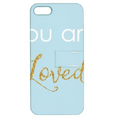 You Are Loved Apple Iphone 5 Hardshell Case With Stand by Kathrinlegg