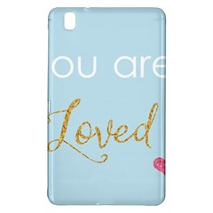 You Are Loved Samsung Galaxy Tab Pro 8 4 Hardshell Case by Kathrinlegg