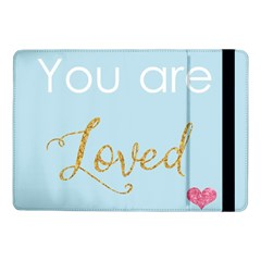 You Are Loved Samsung Galaxy Tab Pro 10 1  Flip Case by Kathrinlegg