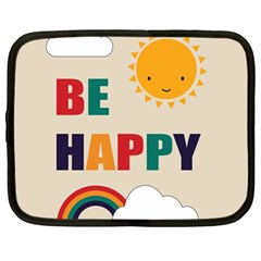 Be Happy Netbook Sleeve (large)