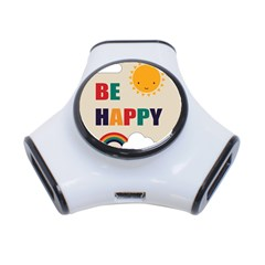 Be Happy 3 Port Usb Hub by Kathrinlegg