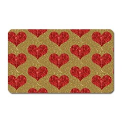Sparkle Heart  Magnet (rectangular) by Kathrinlegg