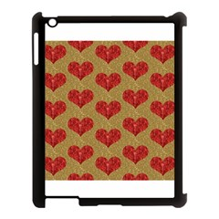 Sparkle Heart  Apple Ipad 3/4 Case (black) by Kathrinlegg