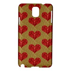 Sparkle Heart  Samsung Galaxy Note 3 N9005 Hardshell Case by Kathrinlegg