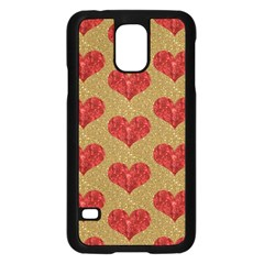 Sparkle Heart  Samsung Galaxy S5 Case (black)