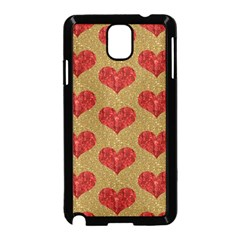 Sparkle Heart  Samsung Galaxy Note 3 Neo Hardshell Case (black) by Kathrinlegg