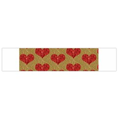 Sparkle Heart  Flano Scarf (small) by Kathrinlegg