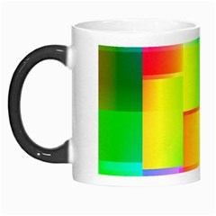 Colorful Gradient Shapes Morph Mug by LalyLauraFLM