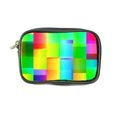 Colorful Gradient Shapes Coin Purse by LalyLauraFLM
