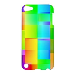 Colorful Gradient Shapes Apple Ipod Touch 5 Hardshell Case by LalyLauraFLM