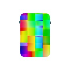 Colorful Gradient Shapes Apple Ipad Mini Protective Soft Case by LalyLauraFLM