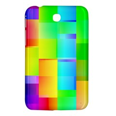 Colorful Gradient Shapes Samsung Galaxy Tab 3 (7 ) P3200 Hardshell Case  by LalyLauraFLM