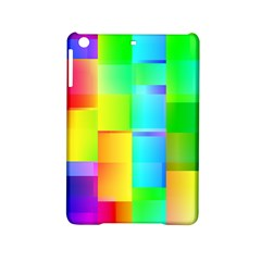 Colorful Gradient Shapes Apple Ipad Mini 2 Hardshell Case by LalyLauraFLM
