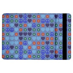 Peace And Love	apple Ipad Air Flip Case by LalyLauraFLM