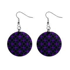 Luxury Pattern Print Mini Button Earrings by dflcprintsclothing
