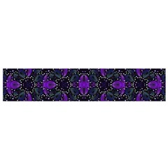 Luxury Pattern Print Flano Scarf (small)