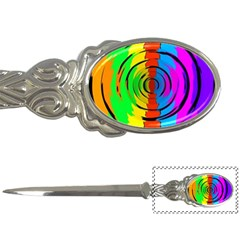 Rainbow Test Pattern Letter Opener