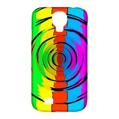 Rainbow Test Pattern Samsung Galaxy S4 Classic Hardshell Case (pc+silicone) by StuffOrSomething
