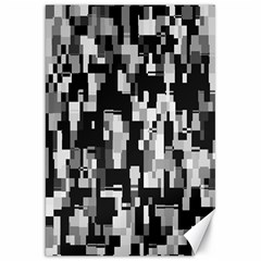 Background Noise In Black & White Canvas 20  X 30  (unframed) by StuffOrSomething