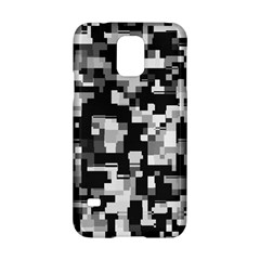 Background Noise In Black & White Samsung Galaxy S5 Hardshell Case  by StuffOrSomething