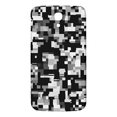 Background Noise In Black & White Samsung Galaxy Mega I9200 Hardshell Back Case by StuffOrSomething