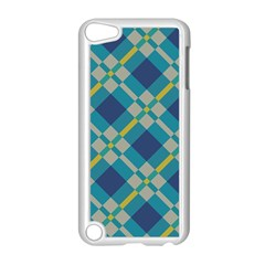 Squares And Stripes Pattern Apple Ipod Touch 5 Case (white)