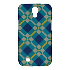 Squares And Stripes Pattern Samsung Galaxy Mega 6 3  I9200 Hardshell Case by LalyLauraFLM